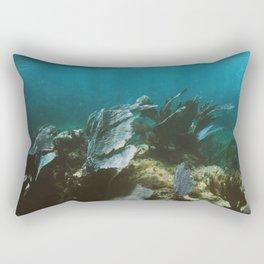Mexican Caribbean Sealife Rectangular Pillow
