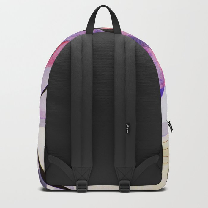 inspiration from Kandinsky . illustration Backpack