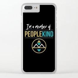 PeopleKind Clear iPhone Case