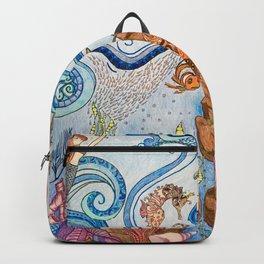 Ocean Zentangle Backpack