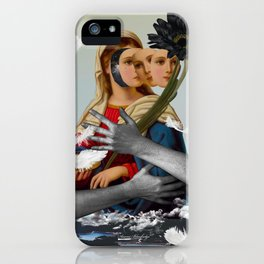 Can't be always like a saint, I have feelings... iPhone Case