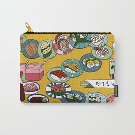 Sushi Train Carry-All Pouch