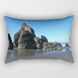 Sea Stacks Of Ruby Beach Rectangular Pillow