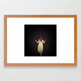 Chasing a dream Framed Art Print