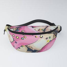 Frosted Animal Cookie Pattern Fanny Pack