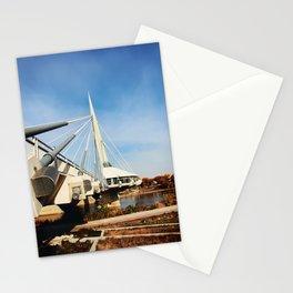 Esplanade Riel Suspension Bridge Stationery Cards