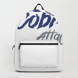 Cobra attack oil painting design Backpack