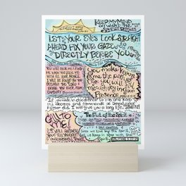 God Knows Mini Art Print