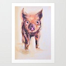 This lil Piggy Art Print