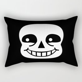 Sans Skull Rectangular Pillow