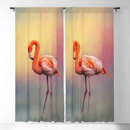 American Flamingo Blackout Curtain