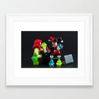 cooking Framed Art Prints featuring Cooking Class by InkBlot