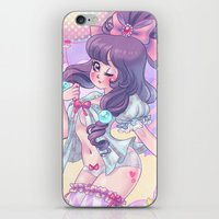 lolita iPhone & iPod Skins featuring Lolita by Pich illustration