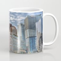 vancouver Mugs featuring Vancouver Reflections by Benson Hilgemann