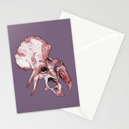 Triceratops - Dinosaur Fossil Skull Stationery Cards