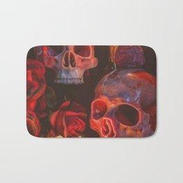 Catacomb Culture - Rose Skull Candle Bath Mat