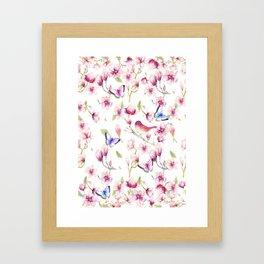 Magnolia Flight Framed Art Print