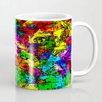 superhero Mugs featuring Superhero Dreamscape by Glanoramay