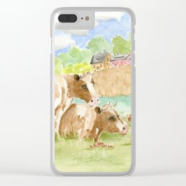 My Girls Clear iPhone Case