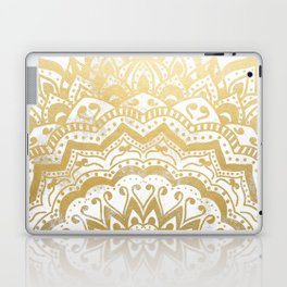 GOLD ORION JEWEL MANDALA Laptop & iPad Skin