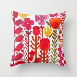rouge love Throw Pillow