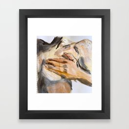 Shine Bright, Raw (for Bettye) Framed Art Print