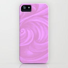neon pink II iPhone Case