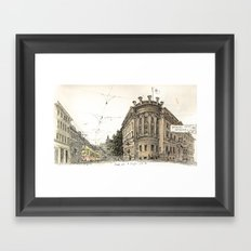 Basel Sketchbook Framed Art Print