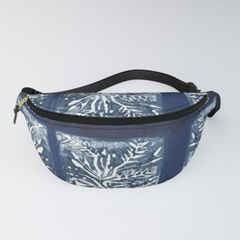 Planted in Blue Fanny Pack