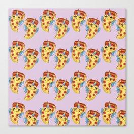 Pizza Unicorn Canvas Print