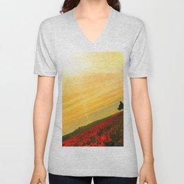 Super Bloom in Sun Unisex V-Neck