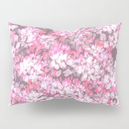Spring Leaves (Pink) Pillow Sham