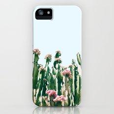 Blush Cactus #society6 #decor #buyart iPhone (5, 5s) Slim Case