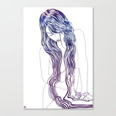 Tresses Canvas Print
