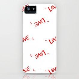 Love wrap iPhone Case