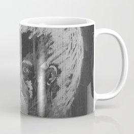 looking boy - black Coffee Mug
