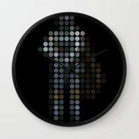 hunter x hunter Wall Clocks featuring Hunter by Triplea