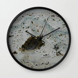 TRAVERTINE Wall Clock