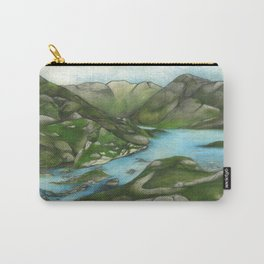 The Scottish Highlands Carry-All Pouch