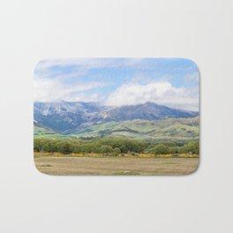Highway 94 Landscape, New Zealand Bath Mat