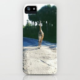 No Hurry In Africa iPhone Case
