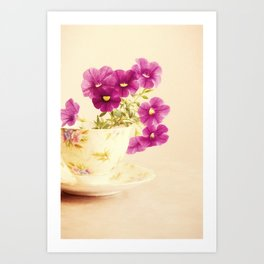 Mini Petunias Art Print
