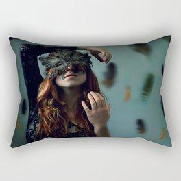 Masquerade Of Madness Rectangular Pillow