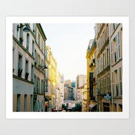 Paris Road - Color Art Print