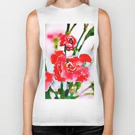 Red Blossom #society6artprint #decor #buyart Biker Tank
