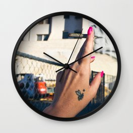Old Lady Jane Wall Clock
