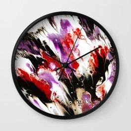 Metamorphosis Of Color Wall Clock