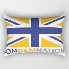 ConDemNation? Rectangular Pillow