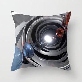 Abstract Camera Lens Throw Pillow