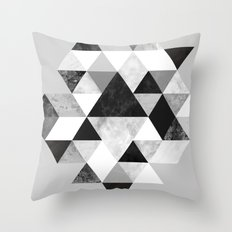 Graphic 202 Black and White Throw Pillow
